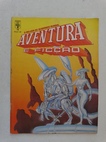 aventura e ficção nº 18! editora abril jul 1989!
