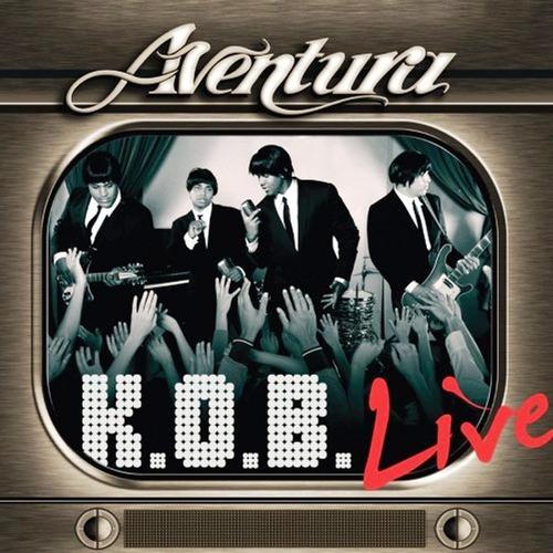 aventura k.o.b.  live  dos discos nuevo original sellado