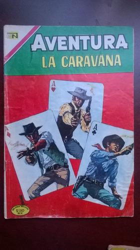 aventura no.660   la caravana  año-1970 novaro