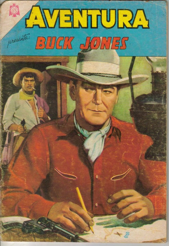 aventura.comic presenta:buck jones.$75.00 (1964) # 345