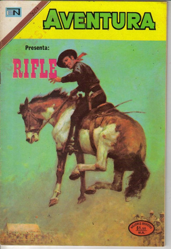 aventura.comic:presenta: rifle (1973) # 807 $ 75.00