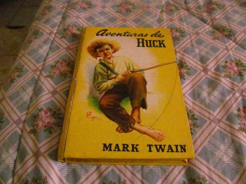aventuras de huck - mark twain
