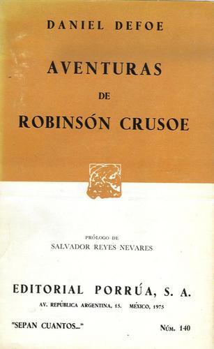 aventuras de robinsón crusoe   -   daniel defoe