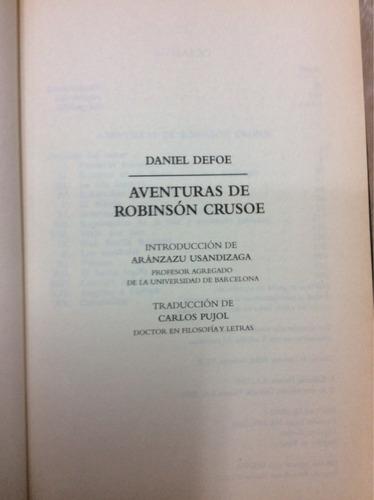 aventuras de robinson crusoe-daniel defoe.