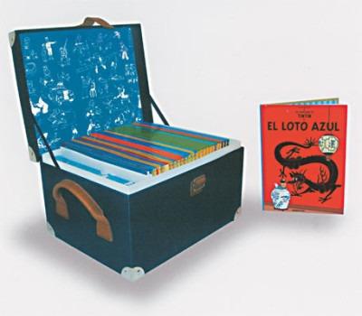 aventuras de tintin ed.centenario 24 albums+cofre(libro acci