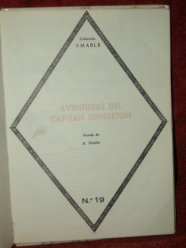 aventuras del capitan singleton - r. pinilla / en belgrano