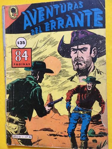 aventuras del errante, historieta, ed oeste