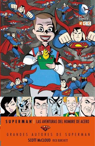 aventuras del hombre de acero - dc ecc comics - robot negro