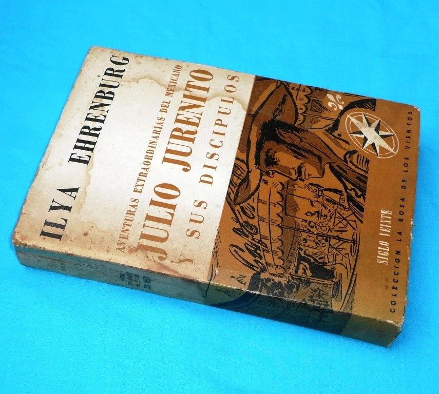 aventuras del mexicano julio jurenito ilya ehrenburg novela