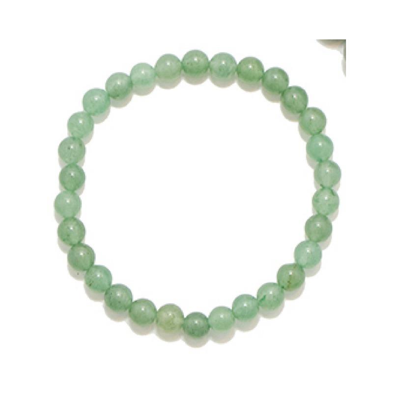 d87a8d847e3f aventurina verde - pulsera de piedras semipreciosas. 6 mm. Cargando zoom.
