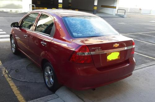 aveo emotion automat. 1.6 sedan rojo velvet 2012 full equipo