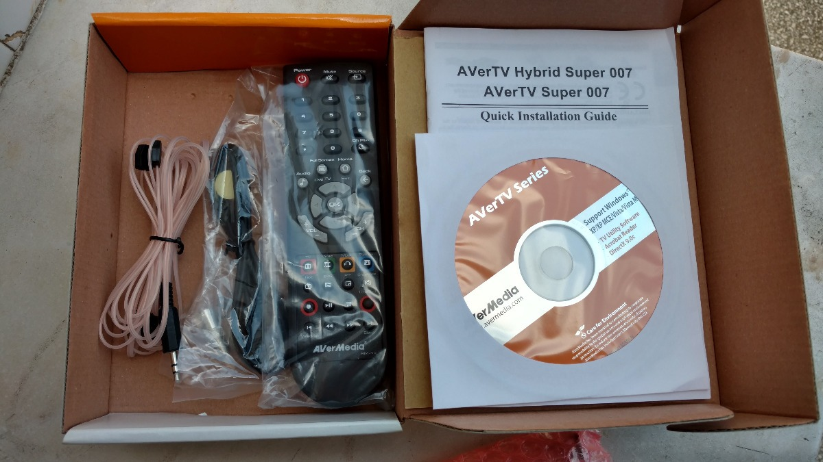 AVERMEDIA AVERTV SUPER 007 DRIVER FOR PC