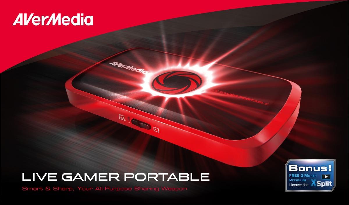 avermedia live gamer portable video gravador de mesa hdmi r 858 00 em mercado livre. Black Bedroom Furniture Sets. Home Design Ideas