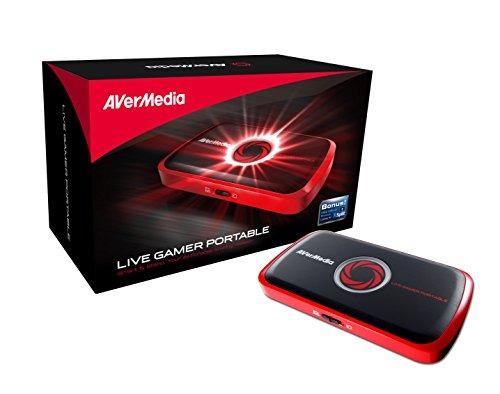 avermedia vivo jugador portátil, full hd 1080p de grabación
