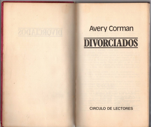 avery corman - divorciados
