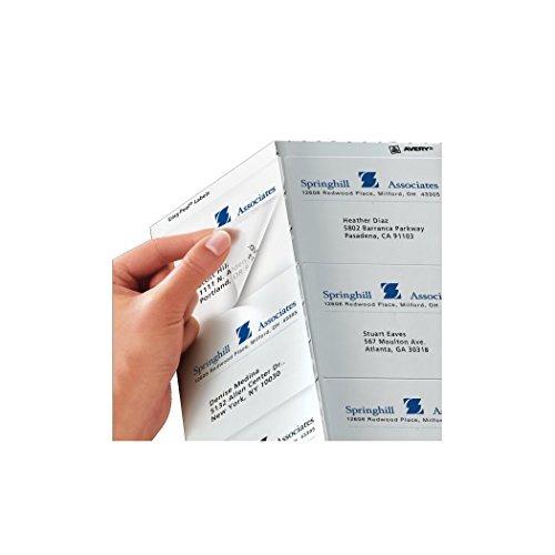 avery easy peel limpiar envío etiquetas para impresoras de