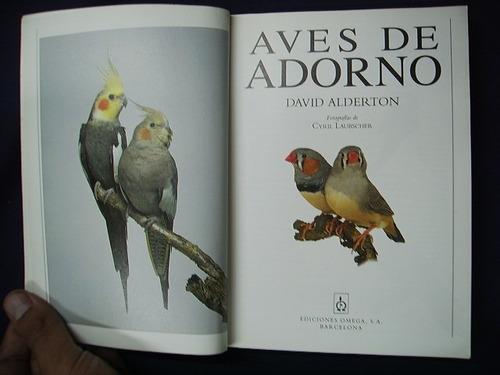 aves de adorno - david alderton