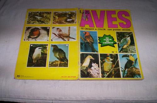 aves.album de cromos.español...completo...