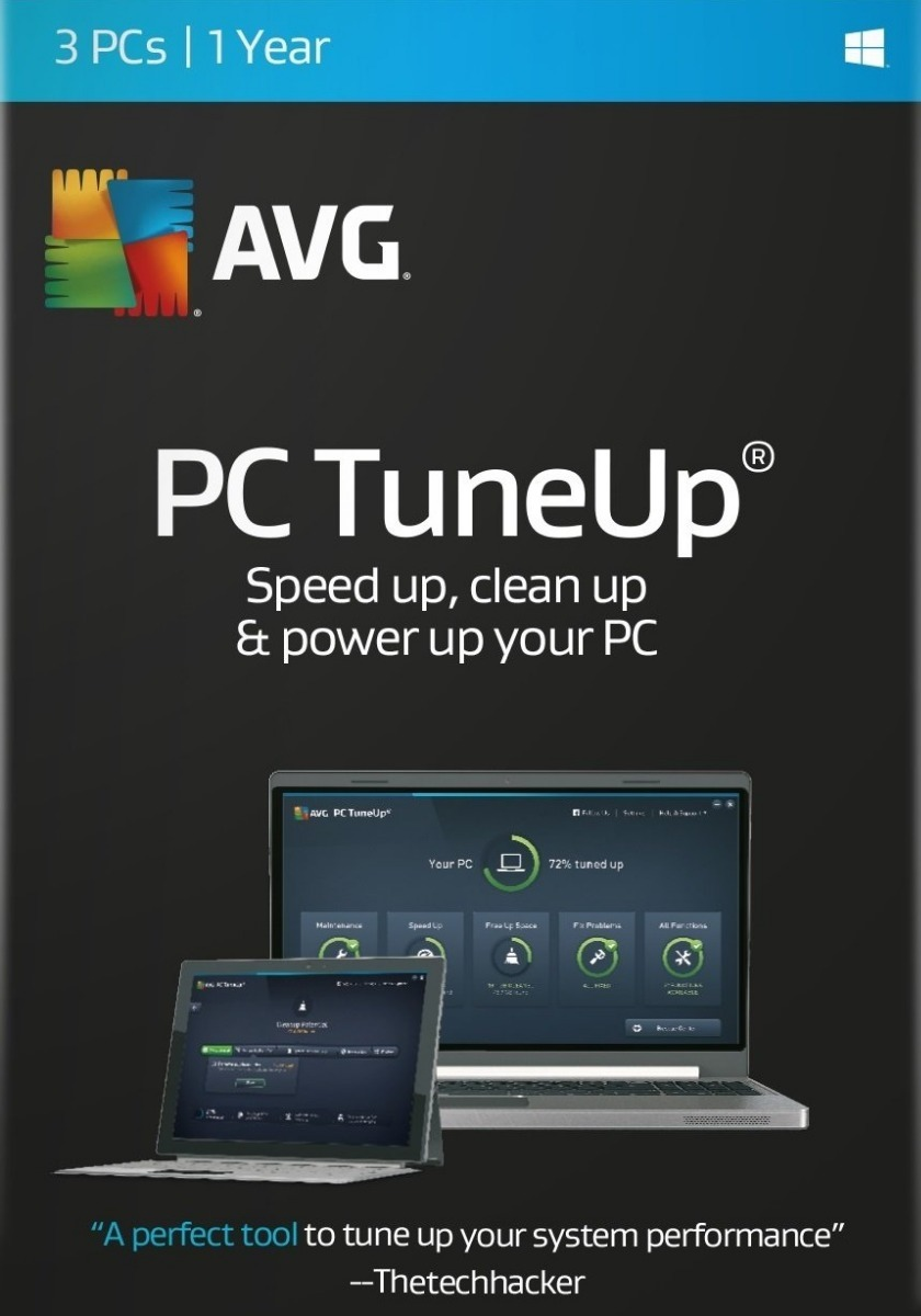 avg pc tuneup 2018 crack free download