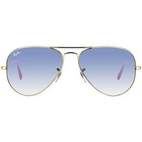 Aviador Ray-ban 3025l 001 Arista Oculos De Sol Degrade