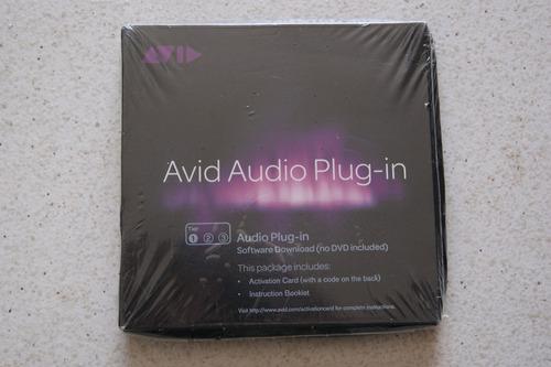 avid audio plug-in tier 1 pro tools m-powered 10 11 hd x le