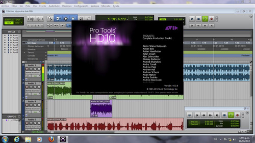 avid pro tools hd 10.3.9 + plugins waves - pc | mac