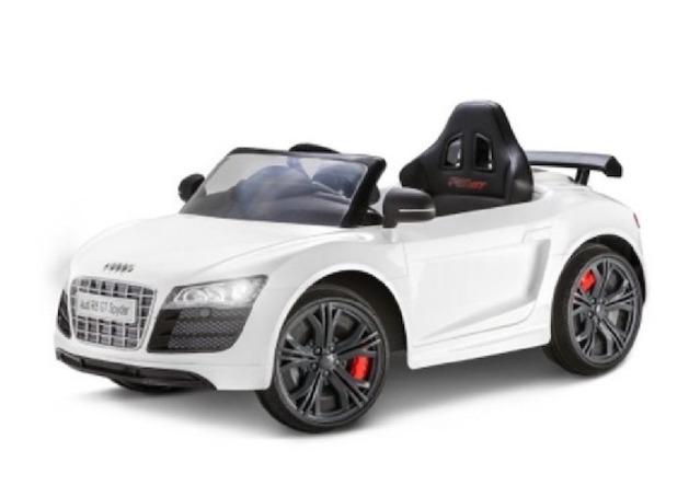 Avigo Audi R8 Gt Spyder 6 Volt Carro Electrico Juguete White