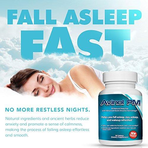 avinol pm paquete alpranax - ayuda natural sueño  melatoni