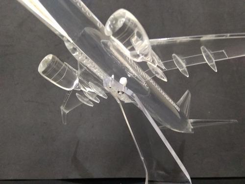 avião boeing 737 max 8 miniatura modelo maquete coleção