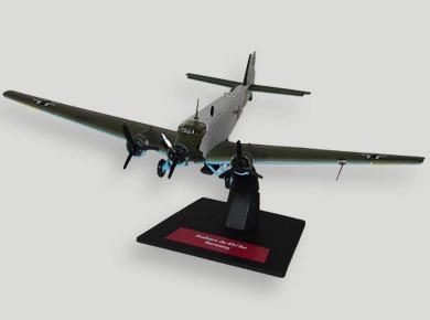 avião bombardeiro junkers ju 52/3mg6e