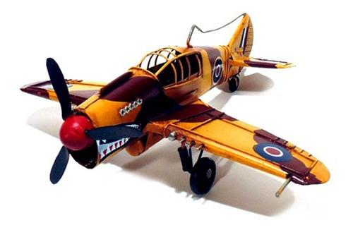 avião britanico decorativo de guerra vermelho crd-819 a