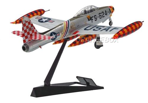 avião f-84e-30 thunderjet 1951 easy model 1:72 af-37107