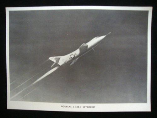 avião foto fotografia antiga d-558-2 skyrocket