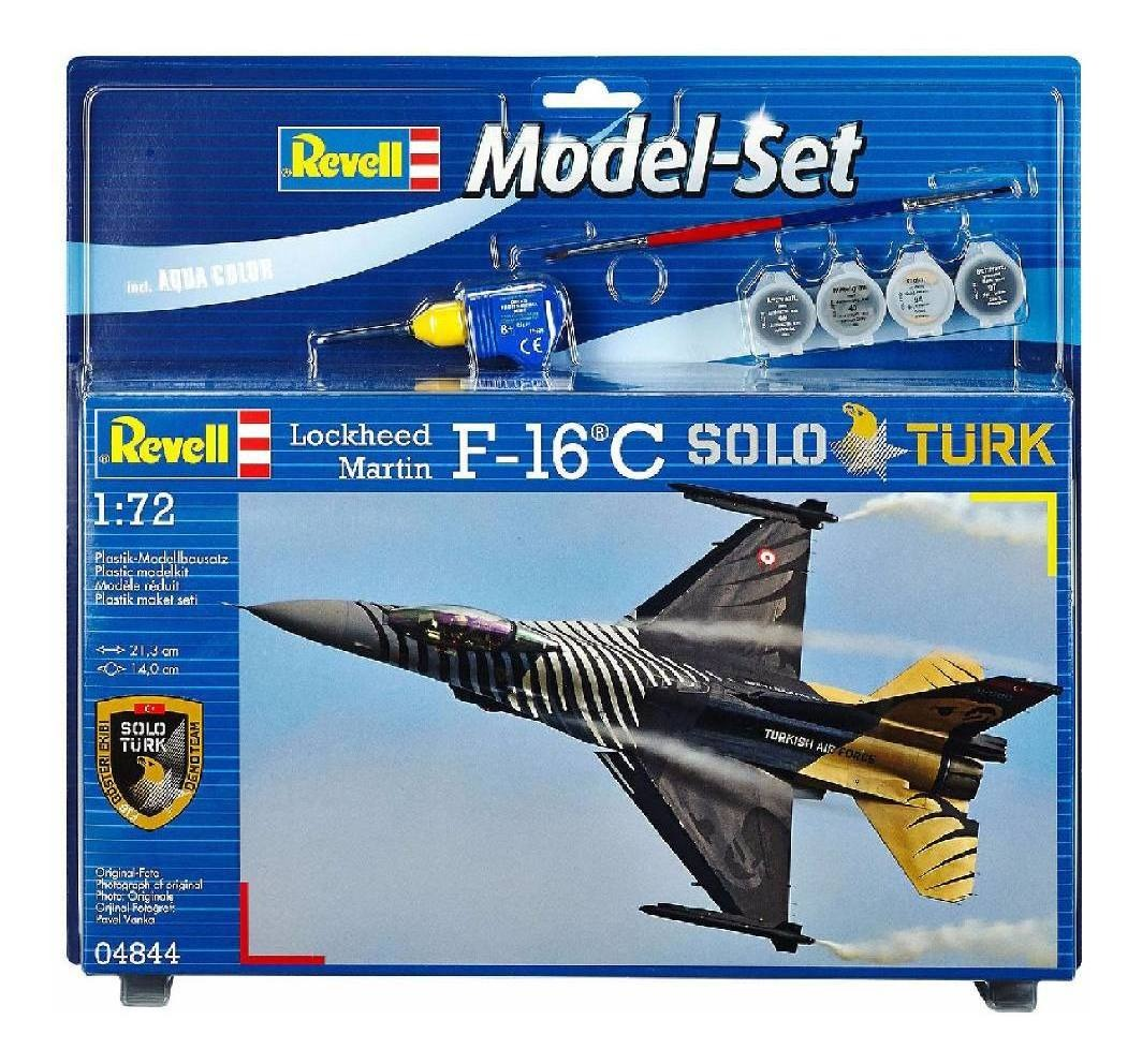 Revell 04844 1 72 Scale F-16 C Solo Turk