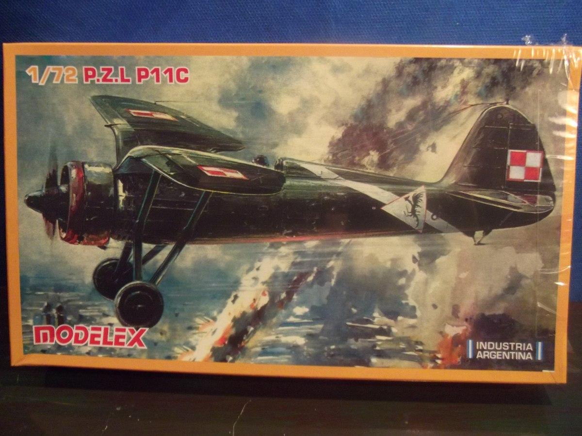 Avião P z l P 11 C - Ii Guerra - Modelex - Brinqtoys