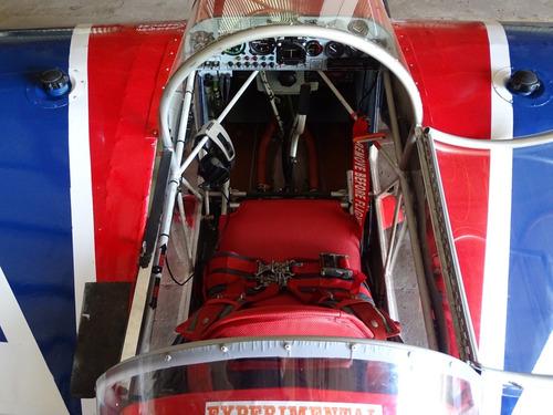 avião ultraleve rans s9 chaos acrobático +6g -4g flyer.
