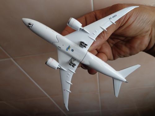 avion 787-8 fuerza aerea mexicana (tp-01) 1:400 gemini jets