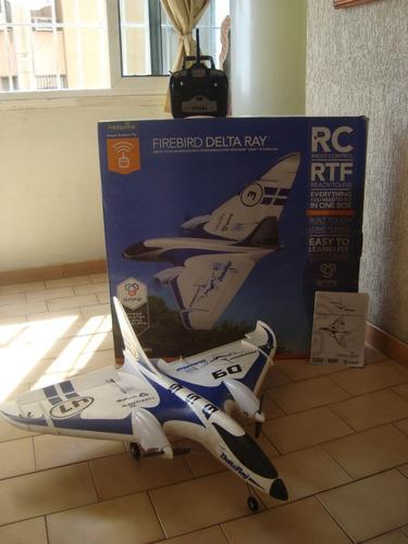 avion a control remoto delta ray
