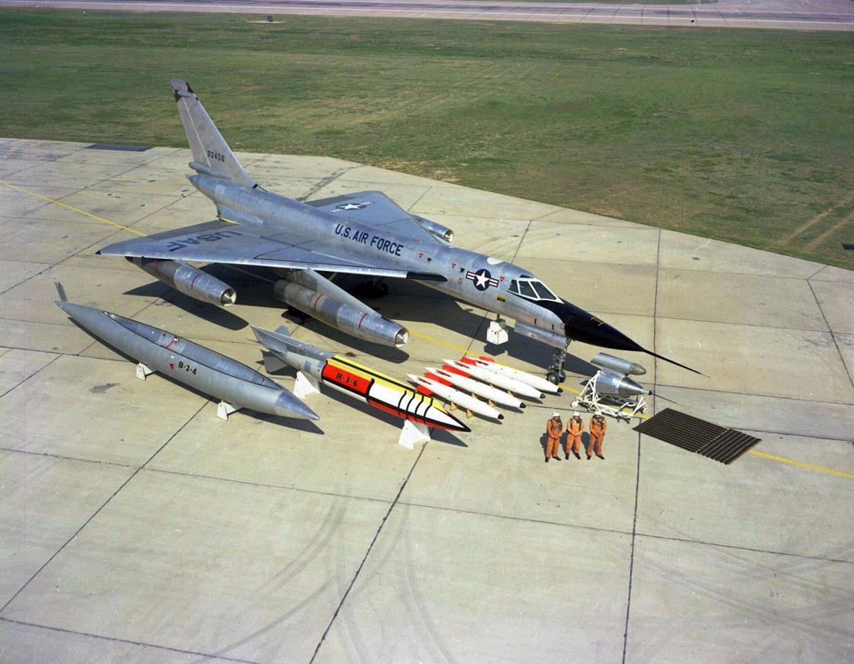 Avion A Escala Bombardero B 58 Hustler1 96 Revell Lodela