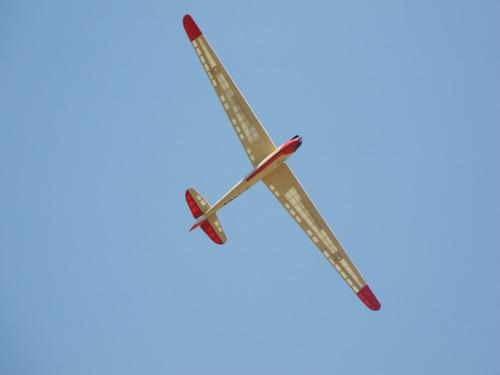 avion a escala - olympia meise, 3,2m, todo rc instalado