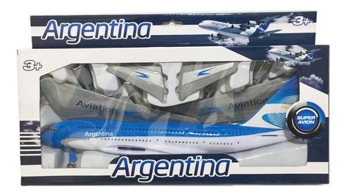 avion aerolinea argentina grande sin control nuevo bigshop
