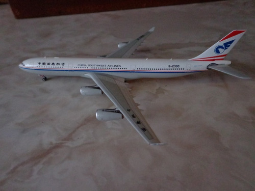 avion airbus a340-300 china southwest airlines phoenix 1:400