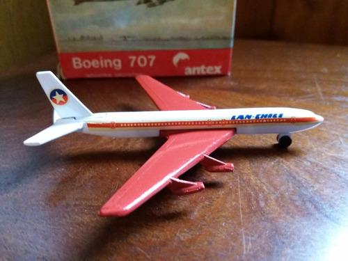avión antex lan chile colección vintage