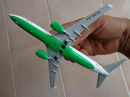 avion boeing 737-800(w) s7 siberia airlines en escala 1:200