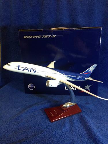 avion boeing b787-9 lan airlines 32 cms nuevo resina