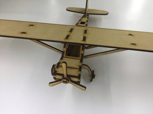 avion cesna souvenir 3d puzzle para armar regalo infantil