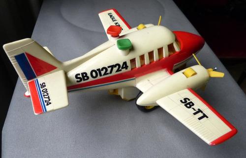 avion cessna friccion juguete antiguo playwell