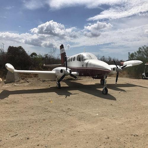 avión cessna modelo 401a