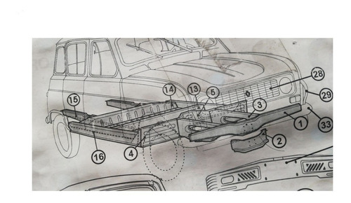 avion (chasis), renault r4 / r6, dl30-198