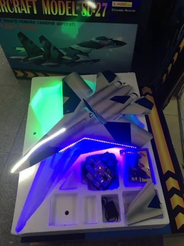 avion control remoto rc su-27 envio gratis + batería extra